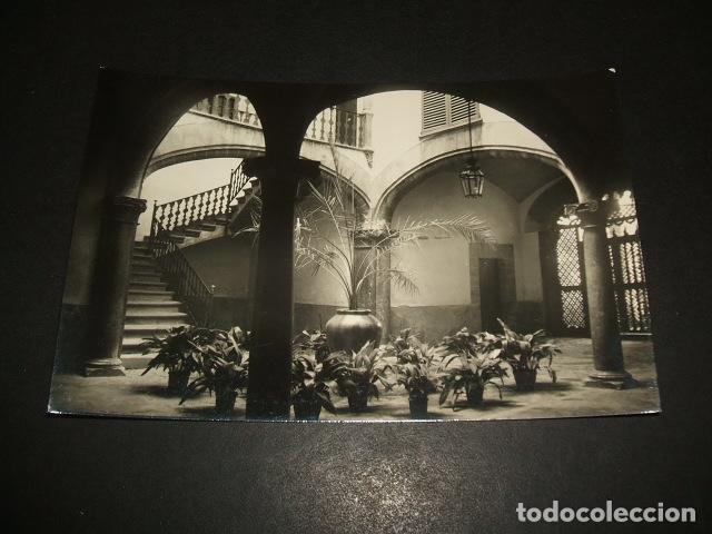 PALMA DE MALLORCA PATIO DE SAN FRANCISCO Y SAN BERNARDO (Postales - España - Baleares Antigua (hasta 1939))