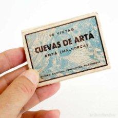 Postales: CUEVAS DE ARTÁ. MINI CARPETILLA 15 FOTOS. 8X6CM. Lote 139289082