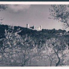 Postales: POSTAL MALLORCA - EL CASTILLO BELLVER CON FLOR DE ALMENDRA - FOTO BALEAR - ORIGINAL. Lote 139892634