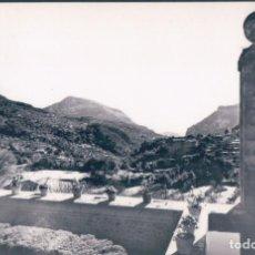Postales: POSTAL MALLORCA - VALLDEMOSA - VISTA DESDE LA CELDA DE CHOPIN 3351 - CASA PLANAS - TAMPON CHOPIN. Lote 139893182