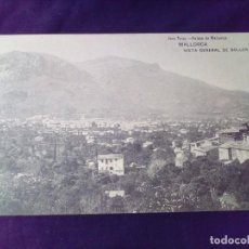 Postales: POSTAL MALLORCA VISTA GENERAL DE SOLLER JOSE TOUS CIRCULADA. Lote 140152082