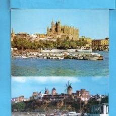 Postales: OCHO POSTAL DE BALEARES VARIOS TODAS ESCRITAS VER FOTOS . Lote 140176754