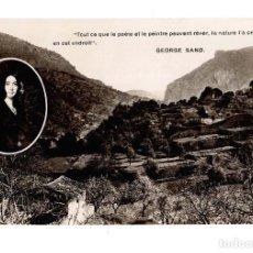 Postales: MALLORCA - VALLDEMOSA (VALLDEMOSSA) - VISTA PRESA DESDE LA CEL LA DE CHOPIN. Lote 140500750