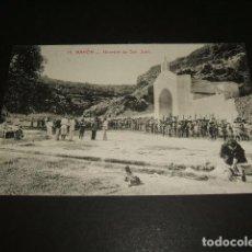 Postales: MAHON MENORCA HERMITA DE SAN JUAN EXPLORADORES. Lote 140526078