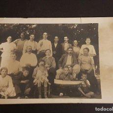 Postales: ANDRATX MALLORCA GRUPO FAMILIAR NIÑO CON BARCO DE JUGUETE POSTAL FOTOGRAFICA . Lote 140641822