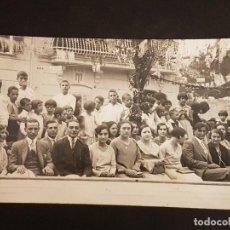 Postales: ANDRATX MALLORCA GRUPO EN FIESTA POSTAL FOTOGRAFICA AÑOS 20. Lote 140658830