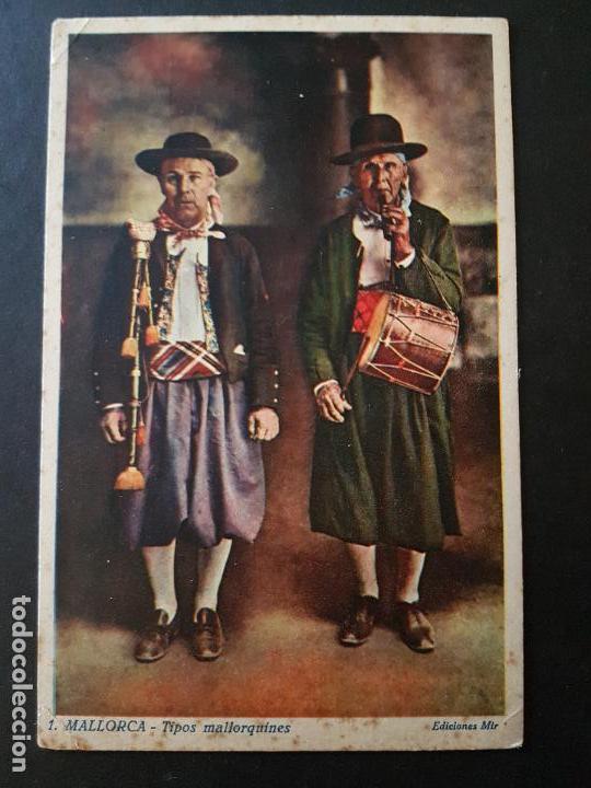 MALLORCA TIPOS MALLORQUINES (Postales - España - Baleares Antigua (hasta 1939))