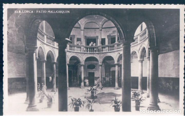 POSTAL MALLORCA - PATIO MALLORQUIN - CIRCULADA SIN SELLO (Postales - España - Baleares Antigua (hasta 1939))