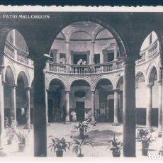 Postales: POSTAL MALLORCA - PATIO MALLORQUIN - CIRCULADA SIN SELLO. Lote 140976906