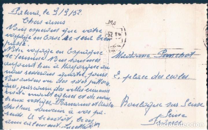 Postales: POSTAL MALLORCA - PATIO MALLORQUIN - CIRCULADA SIN SELLO - Foto 2 - 140976906