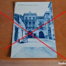 Postales: MANACOR - BANCO POPULAR - AÑOS 20 - 30. Lote 98770439