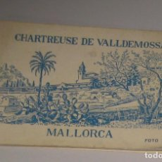 Postales: BLOC **CHARTREUSE DE VALLDEMOSSA** MALLORCA FOTOS MACIA. Lote 142976142