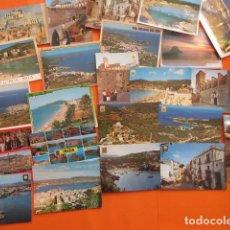 Postales: IBIZA - 23 POSTALES - 5 CIRCULADAS CON SELLO AÑOS 70 - PUEBLOS DE IBIZA VER FOTOS Y PLAYAS . Lote 143266974