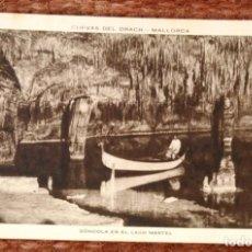 Postales: MALLORCA - CUEVAS DEL DRACH - HUECOGRABADO RIEUSSET. Lote 143368606
