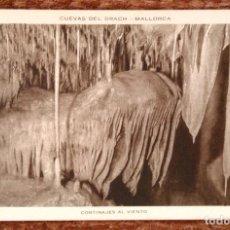 Postales: MALLORCA - CUEVAS DEL DRACH - HUECOGRABADO RIEUSSET. Lote 143368762