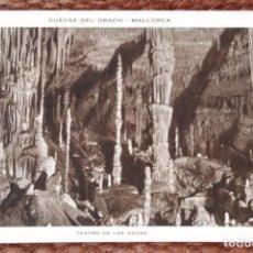 Postales: MALLORCA - CUEVAS DEL DRACH - HUECOGRABADO RIEUSSET. Lote 143368922