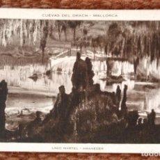 Postales: MALLORCA - CUEVAS DEL DRACH - HUECOGRABADO RIEUSSET. Lote 143369014