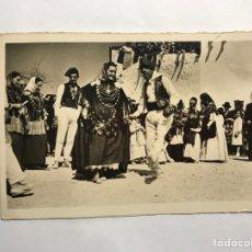 Postales: IBIZA. POSTAL NO.7 FOLKLORE IBICENCO. BAILE TÍPICO LA CURTA. EDITA: FOTO VIÑETS (H.1940?). Lote 143482210