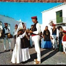 Postales: SAN MIGUEL - IBIZA - DANZA TIPICA. Lote 144208314
