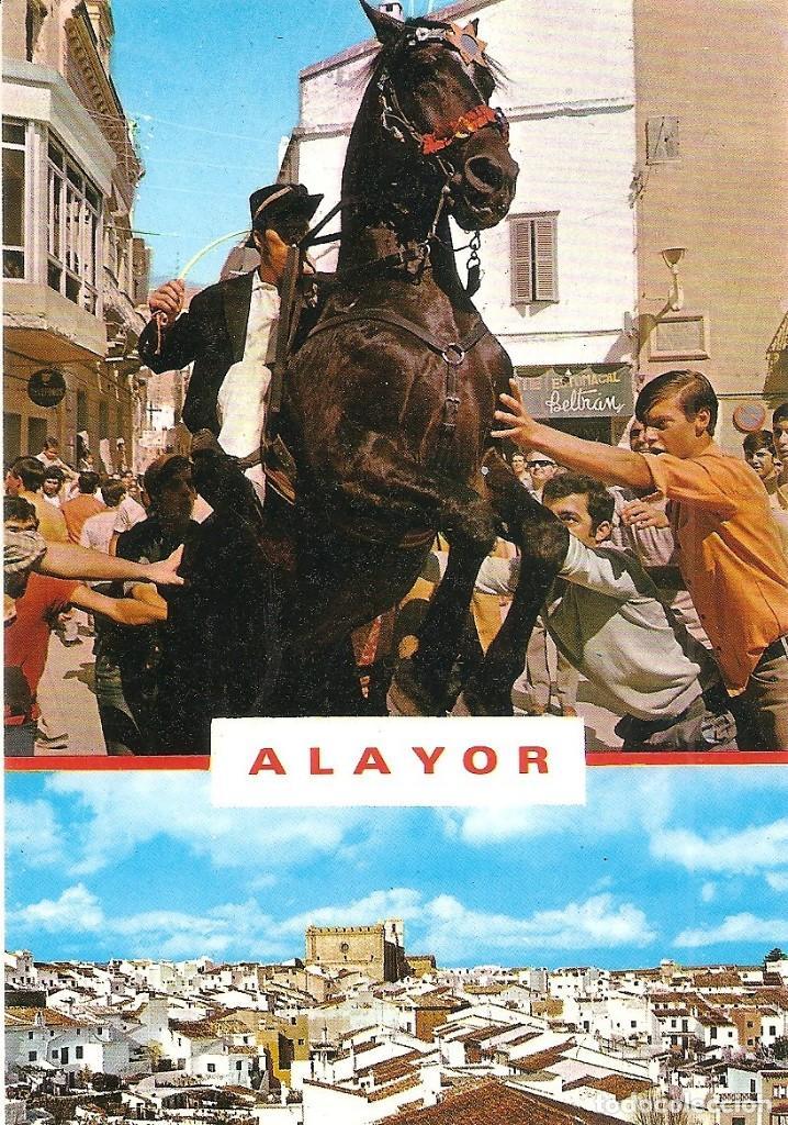 ALAYOR (MENORCA) - TÍPICO JALEO MENORQUÍN. SA COLCADA - EXCLUSIVAS LUCIA MORA - SIN CIRCULAR (Postales - España - Baleares Moderna (desde 1.940))