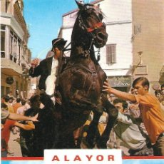 Postales: ALAYOR (MENORCA) - TÍPICO JALEO MENORQUÍN. SA COLCADA - EXCLUSIVAS LUCIA MORA - SIN CIRCULAR. Lote 144413350
