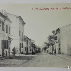 Postales: POSTAL VILLACARLOS-MENORCA, CALLE MAYOR, Nº 3. Lote 144751574