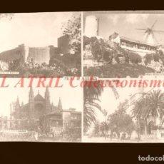 Postales: 1 CLICHE ORIGINAL - PALMA DE MALLORCA - NEGATIVO EN CRISTAL - EDICIONES ARRIBAS. Lote 145480742