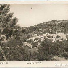 Postales: POSTAL IBIZA SAN JUAN BAUTISTA ED. VIÑETS N° 59 -- 1958. Lote 145629670