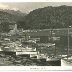 Postales: SOLLER- PUERTO DE SOLLER. FOTO TRUYOL 1953. Lote 146067266