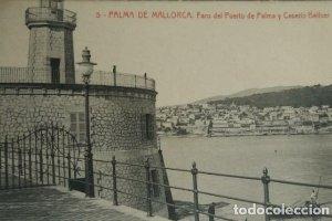 Palma de Mallorca Faro del puerto de Palma y Caserío Bellver