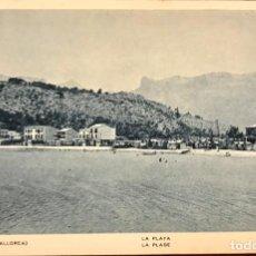 Postales: POSTAL DEL PUERTO DE SÓLLER (MALLORCA). EDICIÓN MARQUÉS.. Lote 146560770