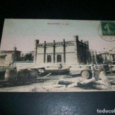 Postales: PALMA DE MALLORCA LA LONJA POSTAL ERROR EDICION AL TITULARSE VALLADOLID LE QUAI RARA SERIE. Lote 146978294