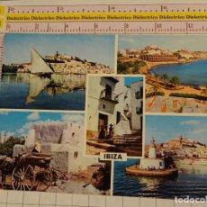 Postales: POSTAL DE IBIZA. AÑO 1962. VISTAS. 1843. Lote 147103302