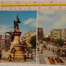 Postales: POSTAL DE IBIZA. AÑO 1976. MONUMENTO A VARA DE REY Y PASEO. 1844. Lote 147103330