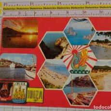 Postales: POSTAL DE IBIZA. AÑO 1983. VISTAS. 1845. Lote 147103338