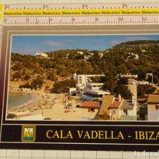 Postales: POSTAL DE IBIZA. AÑO 1989. ISLA BLANCA, CALA VADELLA. 1851. Lote 147103510