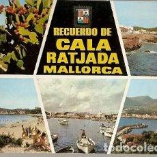 Postales: ESPAÑA & CIRCULADO, MALLORCA, RECUERDO DE CALA RATJADA, BERLIN ALEMANIA 1969 (1824). Lote 147106178