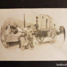 Postales: ANDRATX MALLORCA VENDEDOR AMBULANTE DE FRUTAS POSTAL FOTOGRAFICA . Lote 147320294