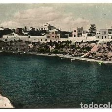 Postales: MENORCA VILLACARLOS CALA FONS. POSTAL FOTOGRÁFICA EN BLANCO Y NEGRO, COLOREADA. CIRCULADA. Lote 147387254