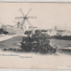 Postales: 1. MANACOR. BALEARES MALLORCA. VISTA GENERAL. FOT LACOSTE. REVERSO DIVIDIDO. SIN CIRCULAR. . Lote 147432198