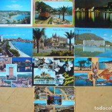 Postales: LOTE 10 POSTALES DE MALLORCA. Lote 147577874