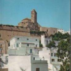 Postales: POSTAL DE IBIZA - BALEARS - CIUDAD ALTA YCATEDRAL - Nº 299 DE FIGUERETAS. Lote 147583386