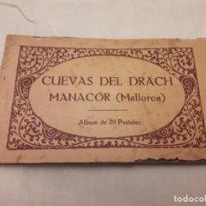 Postales: ANTIGUO CARNET 20 POSTALES CUEVAS DEL DRACH MANACOR . Lote 147791314