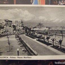Postales: POSTAL DE MALLORCA - 4 PALMA PASEO MARITIMO - FOTOCARD SIN CIRCULAR. Lote 147865466