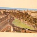 Postales: POSTAL PALMA DE MALLORCA PASEO SAGRERA 10078-ICARIA POSTALES-POSIBLE SEAT 1500 DESCAPOTABLE-SIMCA 1. Lote 148025026