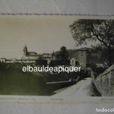 Postales: MALLORCA. VALLDEMOSA Nº 87. LA CARTUJA. FOTO F. GUILERA. 1955 CIRCULADA. Lote 148294630