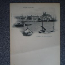 Postales: BALEARES PALMA DE MALLORCA HAUSER 51 VISTA GENERAL POSTAL ANTIGUA. Lote 148391405
