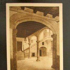 Postales: POSTAL MALLORCA. PATIO BARROCO MALLORQUÍN. AÑO 1926. . Lote 148942654