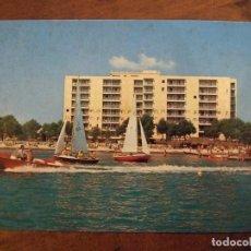 Postales: POSTAL MALLORCA - HOTEL NUEVAS PALMERAS ALCUDIA - FLOR DE ALMENDRO 2341 - SIN CIRCULAR. Lote 149325686