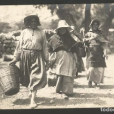 Postales: POLLENSA-YENDO AL TRABAJO-COL·BESTARD 109-FOTOGRAFICA-POSTAL ANTIGUA-(56.600). Lote 149501742